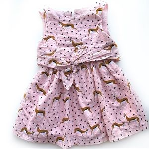 Genuine kids deer dress 2T